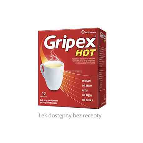 Gripex Hot 12 saszet.