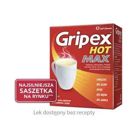 Gripex Hot Max 12 szaszetek