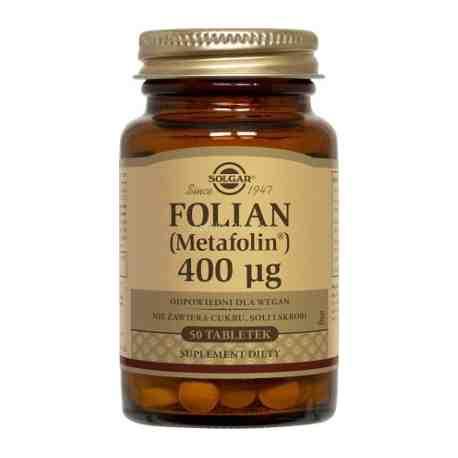 SOLGAR Folian (Metafolin®) 400µg tabl. 50t