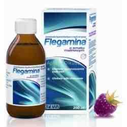 Flegamina smak malinowy 120 ml