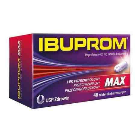 Ibuprom MAX 0.4g x 48 tabl.
