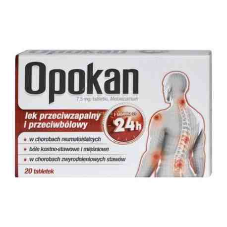 Opokan 7.5 mg x 20 tabl.