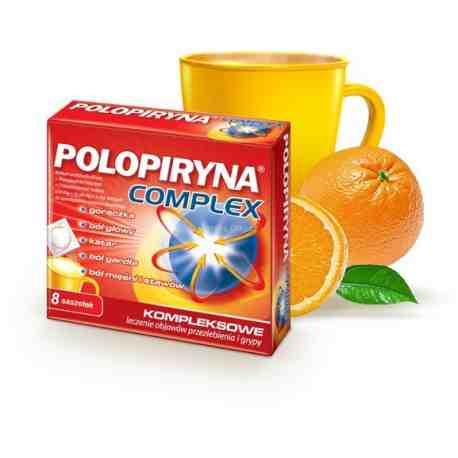 Polopiryna Complex 8 saszetek