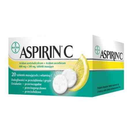 Aspirin C 20tabl. musujących
