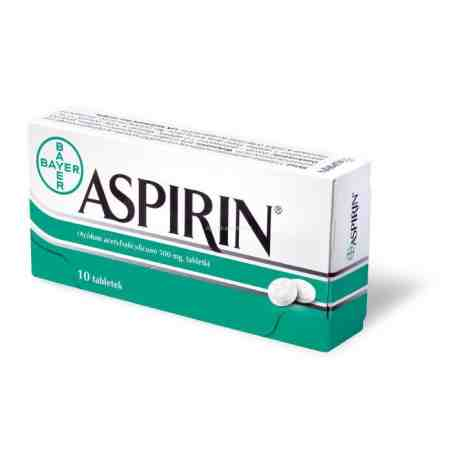Aspirin 10 tabletek