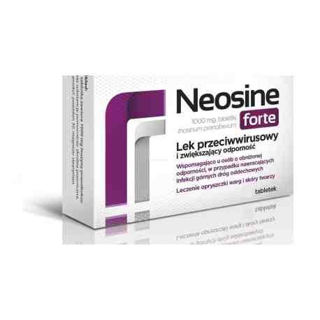Neosine forte 30 tabletek