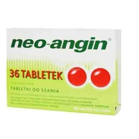 Neo-angin 36 tabletek