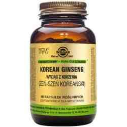 SOLGAR Korean Ginseng (Żeńszeń koreański)