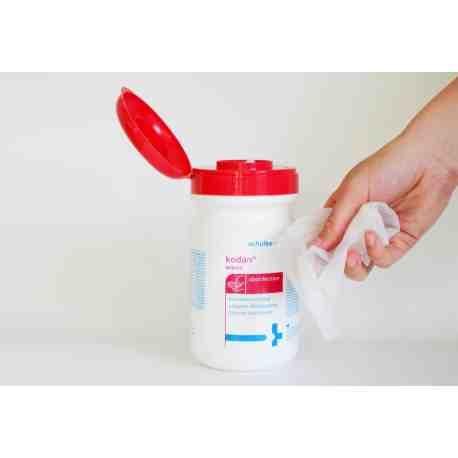 KODAN Wipes chusteczki do dezynfekcji rąk i skóry
