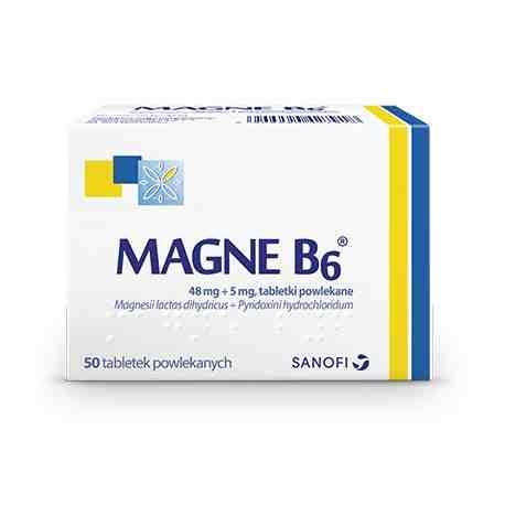 Magne B6 50 tabl.