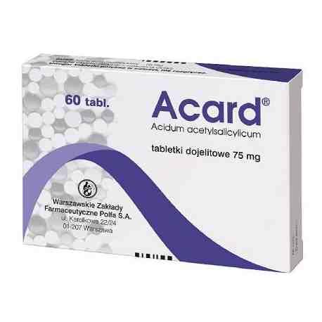 ACARD X 60 TABL