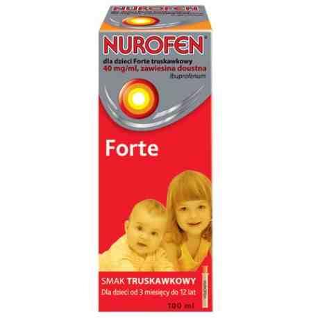 Nurofen dla dzieci Forte trusk. 150ml