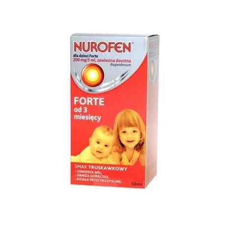 Nurofen dla dzieci Forte zawiesina  50ml
