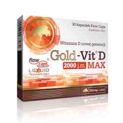OLIMP GoldVit Max D2000IU 30 kaps.