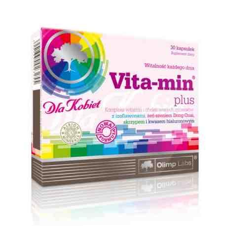 Olimp Vita-min Plus dla kobiet x 30 kaps.