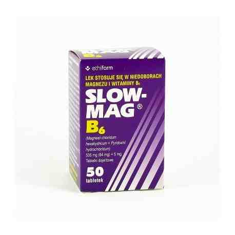 SLOW MAG B6 50 tabl.