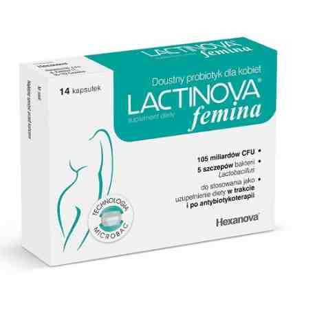 Lactinova  Femina 14 kaps.