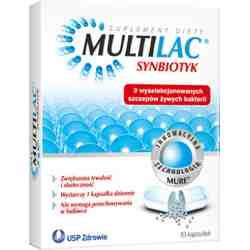 Multilac 10 kaps.