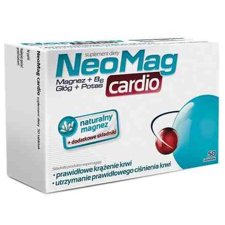 Neomag Cardio 50 tabl.