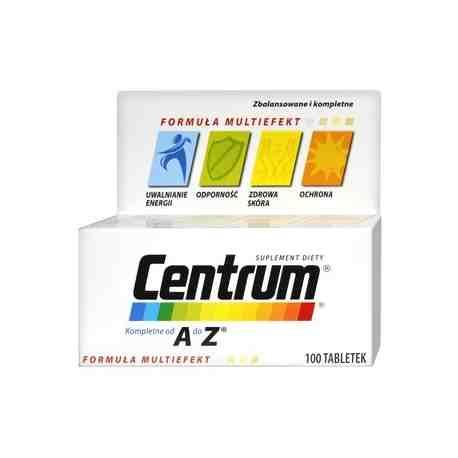 CENTRUM A DO Z 100 tabl. witaminy