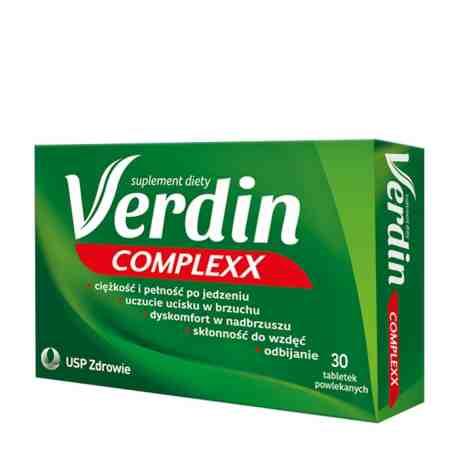 VERDIN COMPLEX x 30 tabl