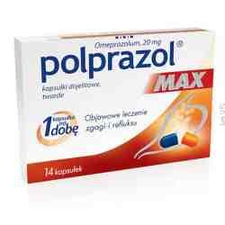 Polprazol Max x 14 tabl.