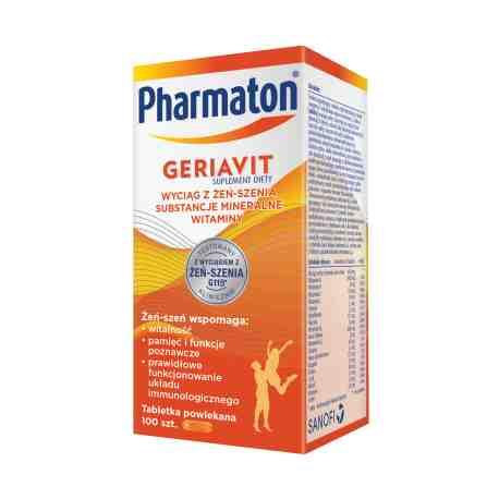 Geriavit Pharmaton x 100tabl