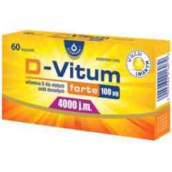 D-vitum 4000 x 60 kaps.