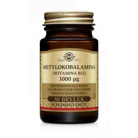 SOLGAR Metylokobalamina wit.B12