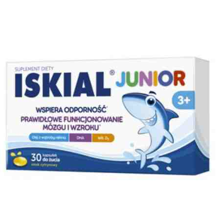 ISKIAL junior tabl. do żucia