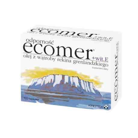 ECOMER odporność  +VIT E X 120 kaps.