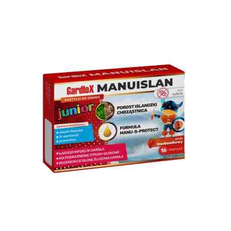 GARDLOX Manuislan Junior x 16 past.