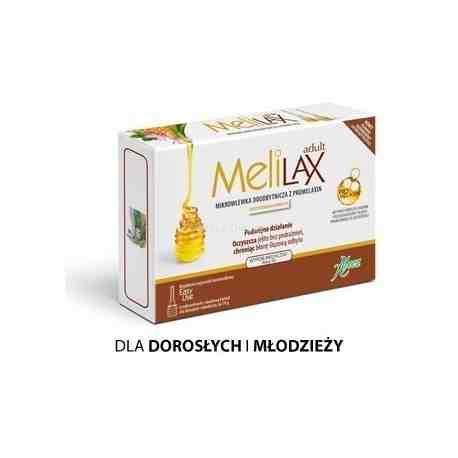 MELILAX dla dorosłych 6mikrowl ZAPARCIA