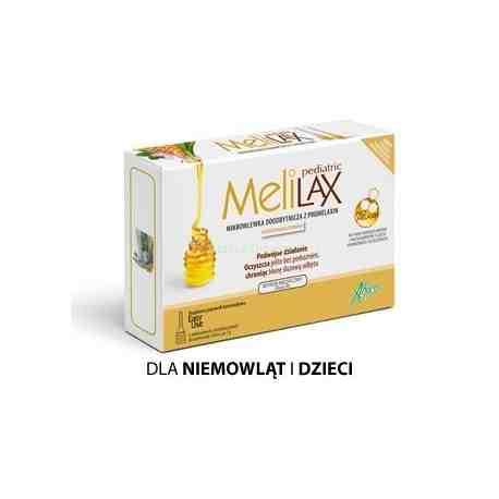 Melilax Pediatric Mikrowlewka dla dzieci +2 GRATIS