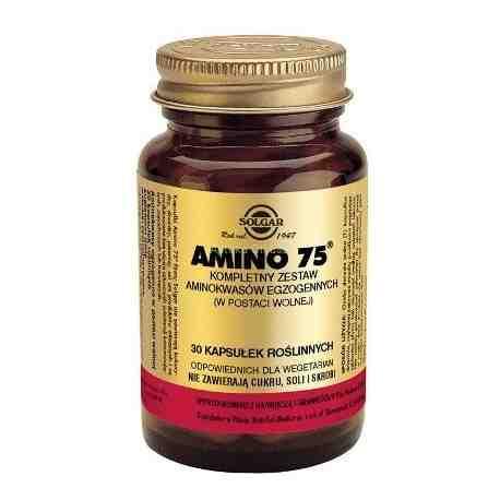 SOLGAR Amino 75 kaps. 30 kaps.