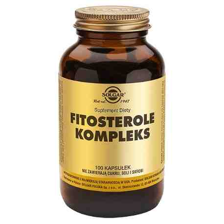 SOLGAR Fitosterole Kompleks kaps. 100kaps.
