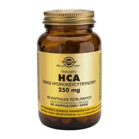 SOLGAR HCA kaps. 0,25 g 60 kaps.