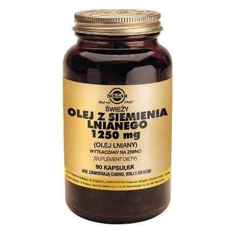 SOLGAR Olej z siemienia lnianego 1250 mg 1