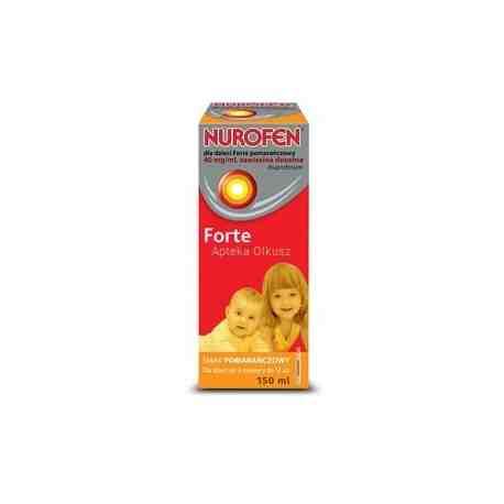 Nurofen dla dzieci Forte pomarańcz. 150ml