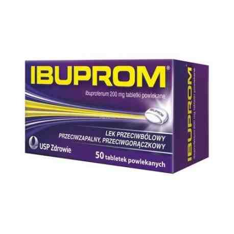 Ibuprom 0.2g x 50 tabl.