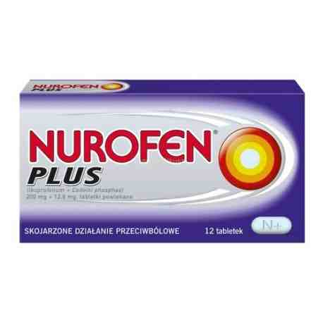 Nurofen Plus 0,2 g +12,8 mg x 12 tabl.