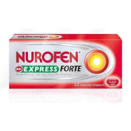 Nurofen Express Forte x 10 kaps.