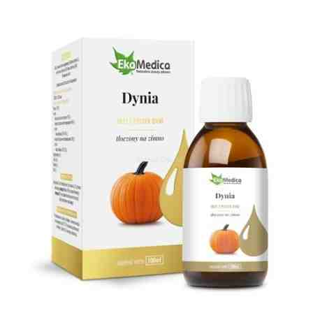 EkaMedica Olej z pestek dyni 100% 100 ml