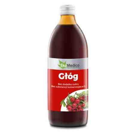 EkaMedica Głóg 100% sok 500 ml