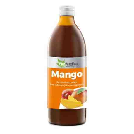EkaMedica Mango 100 % Sok 500ml