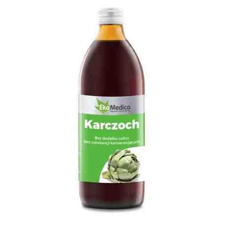 EkaMedica Karczoch sok 500ml