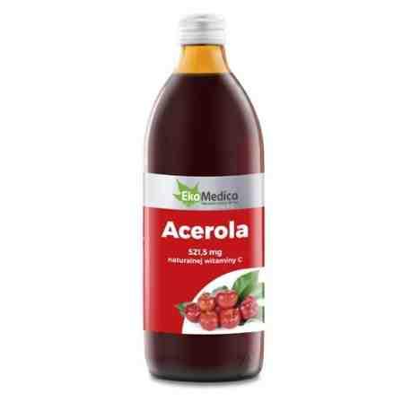 EkaMedica Acerola sok 100% 500 ml