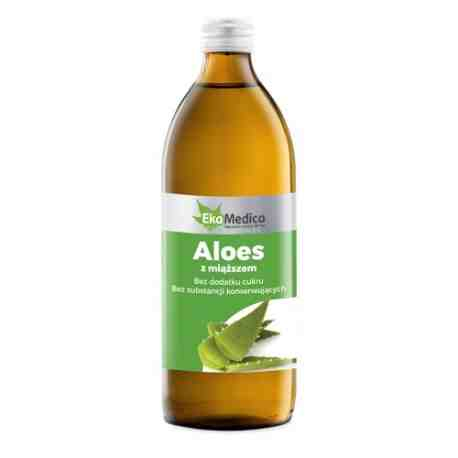 EkaMedica Aloes Sok 99,8% z miąższem