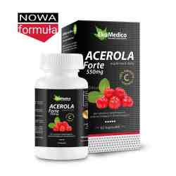 EkaMedica Acerola Forte 550mg x 60 kaps.