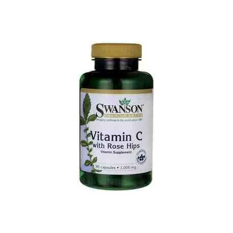 Vitamin C 1000 mg z dziką różą SWANSON